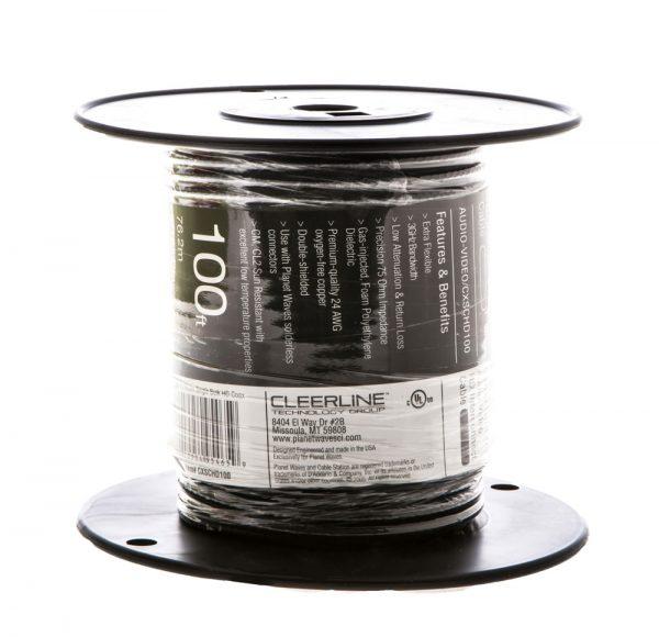 dual 100 ft spool